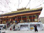 Buddhist, Temple in Leh © J Thomas