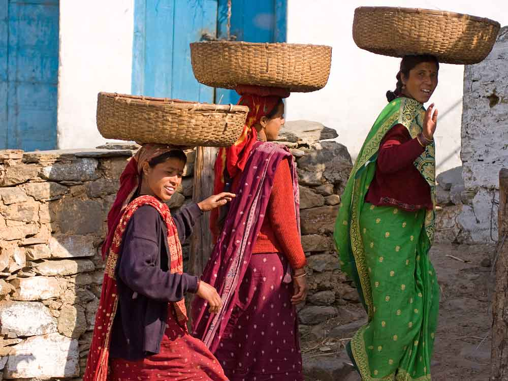 Himalayan ladies © J Bridges