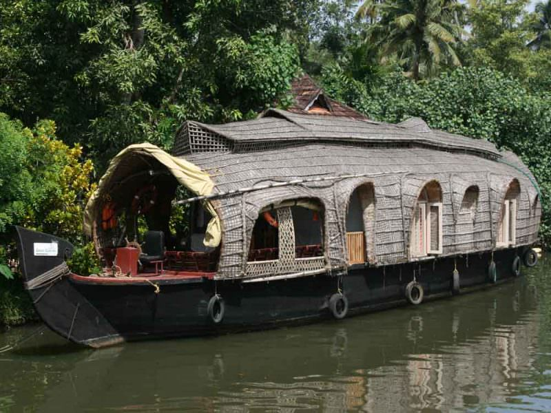 Houseboat, Backwaters, Kerala © J Thomas