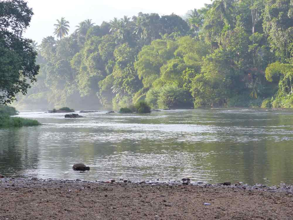 Kelani River at Kithulgala © E Wakely
