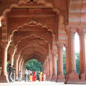 Diwan i aam at Agra Fort © P Clarke