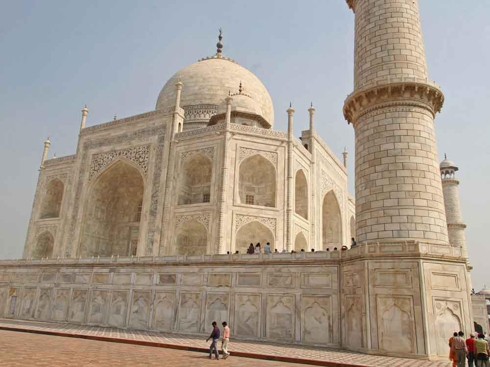 Taj Mahal in Agra © P Clarke