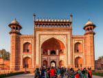 Taj Mahal entrance © P Clarke