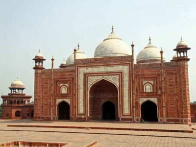 Taj Mahal grounds © P Clarke